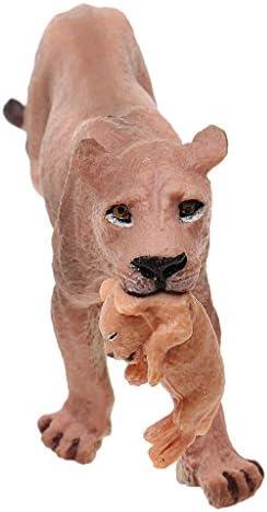 MagiDeal Modèle Figurine Animal Plastique Réaliste Figurine Modèle Lionne Jouets Cadeau  s 421107