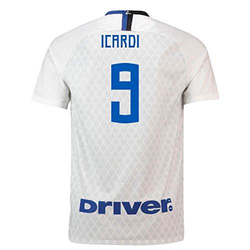 2018-19 Inter Milan Away Football Soccer T-Shirt Camiseta (Mauro Icardi 9) - Kids