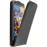 mumbi PREMIUM Leder Flip Case für LG G3 Tasche
