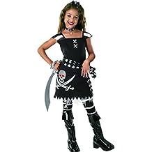 Rubbies - Disfraz de pirata para niña, talla 3 - 4 años (882031S)