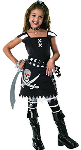 Scarlet Kostüm Girl - Rubies 2882031 Kostüm, schwarz, L
