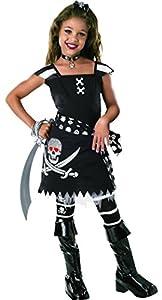 Rubbies - Disfraz de pirata para niña, talla 3-4 años (882031S)