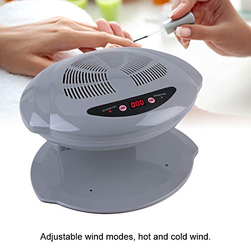 400W Secador Uñas Aire Frío Caliente Profesional