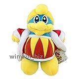 Yijinbo King Dedede Super Smash Bros Kirby Penguin Mario di Peluche, 25,4 cm