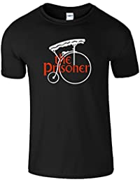 The Prisoner Herren Komisch Casual Wear Top Tee T-Shirt