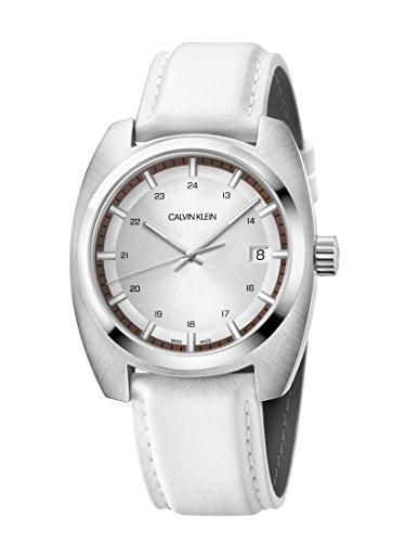 Calvin Klein Reloj Analógico para Hombre de Cuarzo con Correa en Cuero K8W311L6