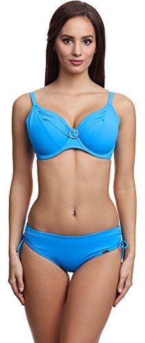 AVA Damen Bikini Set SK SF 2016 Blau (1112)