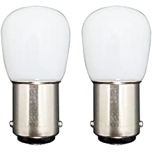 MZMing [2 Pack] Bombilla LED B15 1.5W en Lugar de 15W 6000K Lámpara