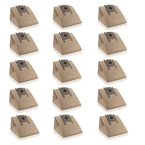 Wessper 15x Staubsaugerbeutel geeignet für Swirl R 29, R29 (Papier)
