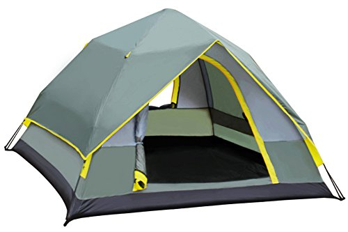Blue Vessel Automatic Tent Fireproof Outdoor Camping Double Layer Double Layer...