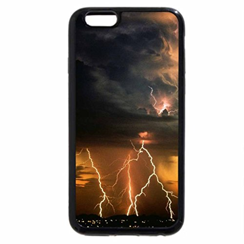 iPhone 6S / iPhone 6 Case (Black) Lightning.