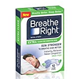 (160 Strips) Breathe Right Nasal Strips EXTRA CLEAR For SENSITIVE SKIN - 32 Count (5 Pack)