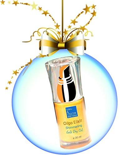 ORIGINALE Huile Précieuse Pailletée 30 ml Huile Sèche Scintillante - Le Cadeau de Noël. Original et Pailleté.