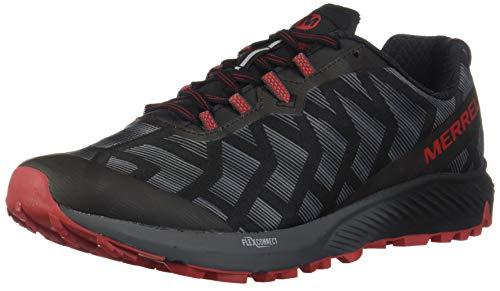 Merrell Agility Synthesis Flex, Zapatillas de Running para Asfalto para Hombre, Negro (Black/Cherry), 41 EU