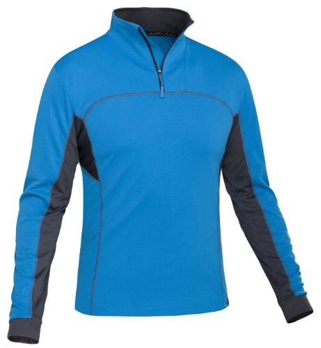 Salewa, Maglietta Uomo Iolith Dry Long Sleeve 849, Blu (davos/0780), S Blu (davos/0780)