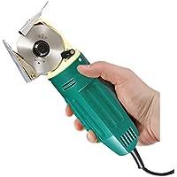 GRASSAIR Cortador rotatorio eléctrico de la Tela Cortadora Redonda de la cortadora con la función automática de Pulido del Cuchillo para acolchar, Dressmaking y Costura