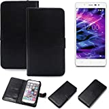K-S-Trade 360° Wallet Case for Medion Life S5004 cover
