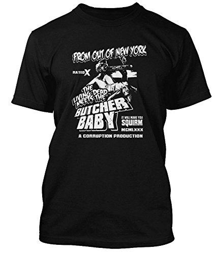 PLASMATICS Wendy O Williams inspired Butcher Baby T-shirt, Uomini, XL, Nero