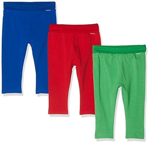 y Blau-Rot-Grün im 3er Pack Leggings, Sortiert 999, 74 (Herstellergröße: 74/80) (erPack 3 ()