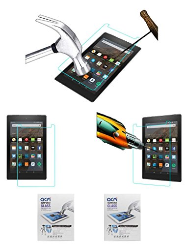 ACM Tempered Glass Screen Guard Scratch Protector for Fire Hd 8 – Pack of 2