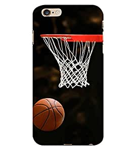 PrintVisa Designer Back Case Cover for Apple iPhone 6 Plus :: Apple iPhone 6+ (Basket Ball A Great Sport)