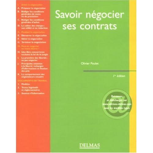 Savoir négocier ses contrats