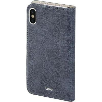 Price comparison product image Hama - Guard Case Booklet for Apple iPhone 8, blue - Blue - Faux Leather (1 Accessories)