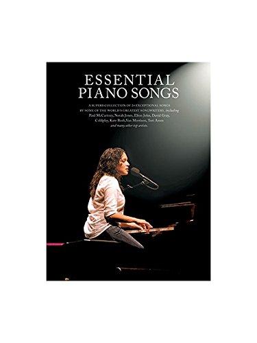 Vanessa Carlton Noten (Essential Piano Songs - Book 1. Für Klavier, Gesang & Gitarre(mit Griffbildern))