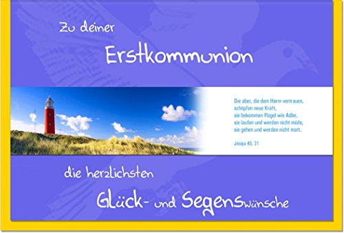 "metALUm Premium Grußkarten""Leuchtturm"""