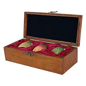 Juego de Tronos 3 tazas de huevo de dragón en un conjunto de joyas caja de 27,7x12,3x7,2cm 5
