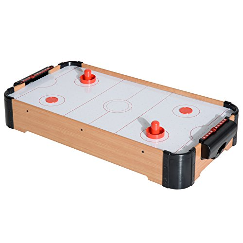 HOMCOM A70-026 Tischhockey, wie Bild
