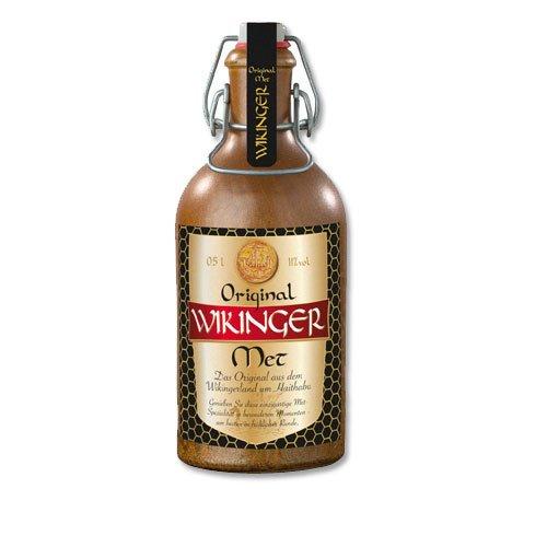 Wikinger Met Original Behn Honigwein 11,0% Vol. im Tonkrug 1x 0,5l