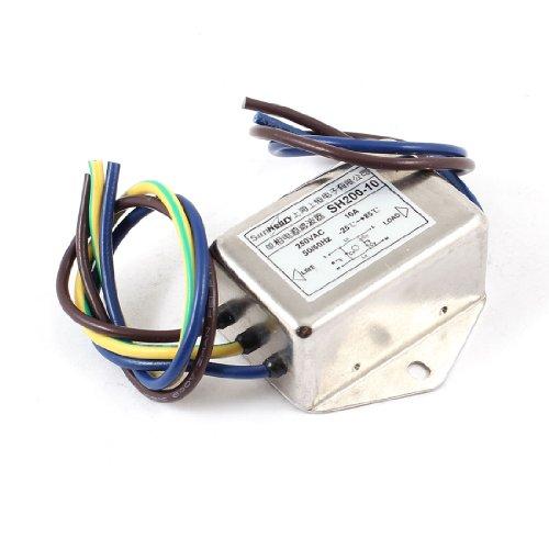 AC250V SH200-10A Rauschunterdrücker Einphasen-Wechselstrom-EMV-Filter de