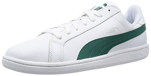 Puma Smash L, Baskets Basses Mixte Adulte Blanc (White/Storm)