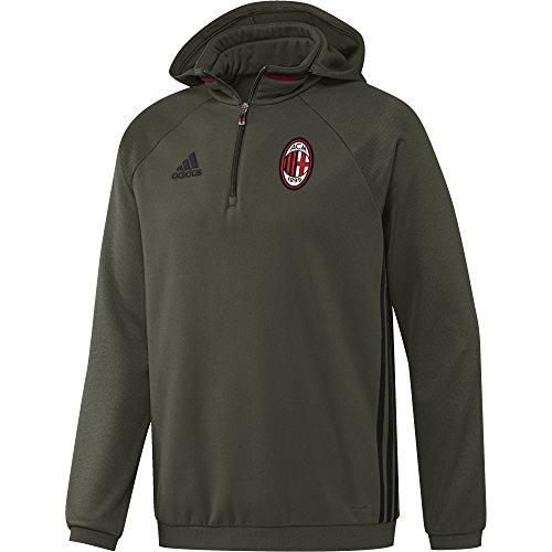 AC Milan felpa allenamento training pile 2016/17 Adidas (size