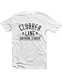 Clubber Lang T Shirt 1492–Mr T lado sur Slugger Rocky 3Balboa Boxing Italian Stallion gimnasio Champion