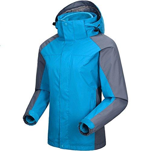 LaoZan Giacca Sportiva Antivento Impermeabile Traspirante e Caldo Donna Colore 3
