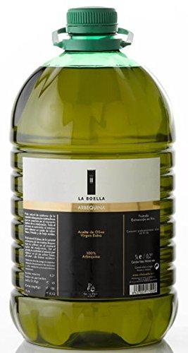 La Boella. Arbequina-Olivenöl, Box mit 3 Flaschen zu je 5 Litern. Origen Oliva.