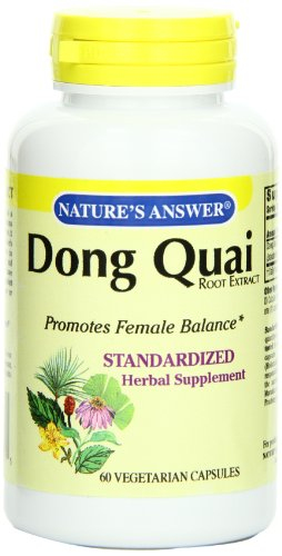 Nature's Answer Dong Quai Root Extract (60 Veg Capsules)