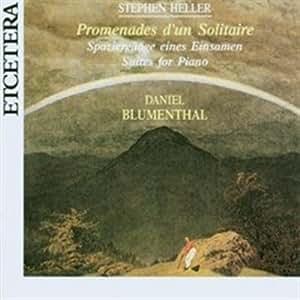 Promenades d'un solitaire per piano op 78 (18511 5