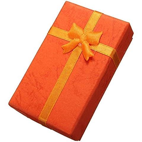LuckyFine Carta Gioielleria Anello Orecchini Collana Gift