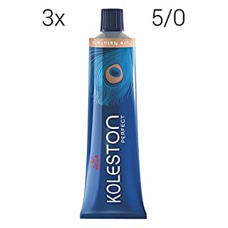 Wella Koleston Perfect 5/0 hellbraun SET 3x60ml