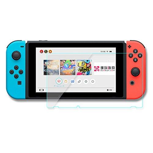 GOZAR 9H 2.5D Gehärtetem Glas Klar Displayschutzfolie Schutzfolie Für Nintendo Switch