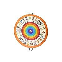 Poema & Rosa Oyun halısı ve oyuncak saklama çantası |140 cm. çap | Çocuk yer halısı: öğrenirken eğlenir | İplerinden çekerek toplanır ve oyuncak, kitap vb. ürünlerin organize edilmesini kolaylaştırır
