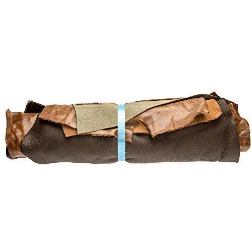 pelle-scarti-1-kg-varie-shades-of-marrone-assortiti-a4-dimensione-ritagli-artigianato-pezzi-qualsias