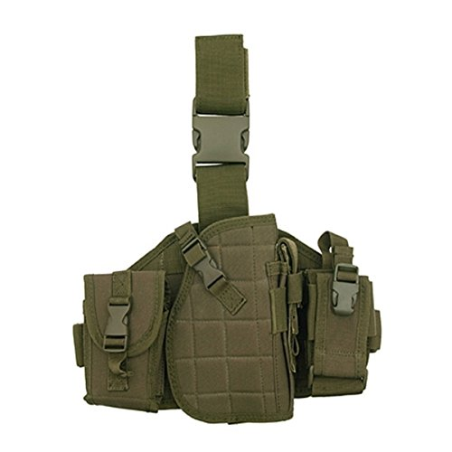 Fields Airsoft Tactical Drop Leg Panel with Magazine Pouches -
