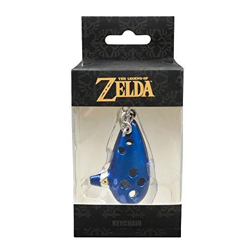 The Legend of Zelda - 3D Ocarina - Schlüsselanhänger lizensiertes Nintendo Merchandise