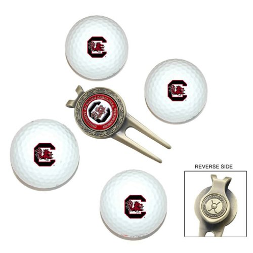 ncaa-south-carolina-team-golf-ball-gift-set-by-team-golf