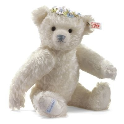 677052-Steiff-Collection--Winter-Teddy-Bear-Lladr-Four-Seasons-Collection-White-28-cm