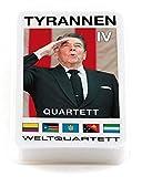 """familie von quast - Quartett Spiel Tyrannen 4"""" - das ultimative Kartenspiel mit 32 Blatt"""